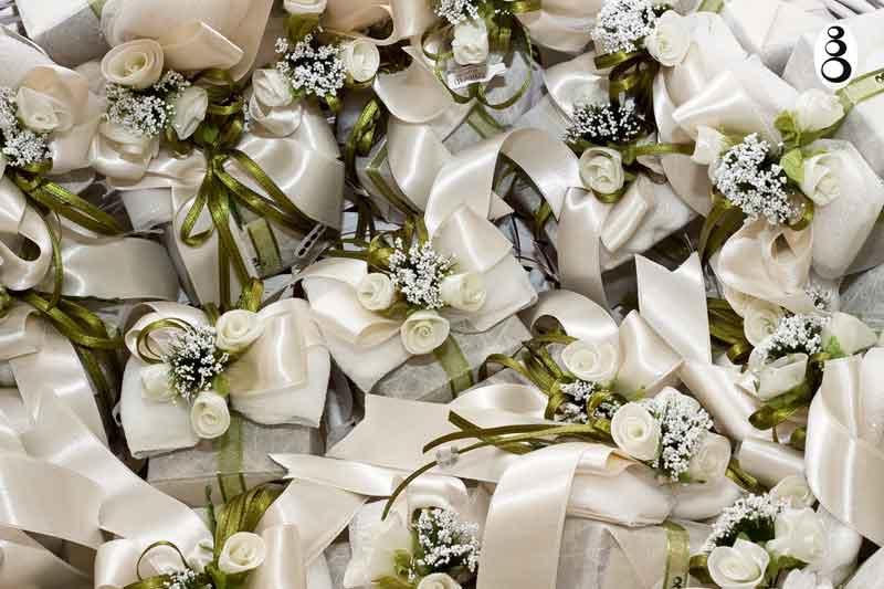 Bomboniere cesto con bomboniere matrimonio create da - Cesti porta bomboniere matrimonio ...